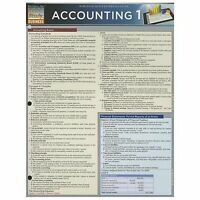 Accounting 1 Study Guide by BarCharts Inc. (2013, Book, Other)