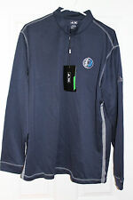 NWT Adidas Dallas Mavericks 1/4 Zip Performance Jacket- L