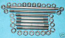 BSA A10 A7 pre unit A-Series Engine Plate  Studs, Stainless