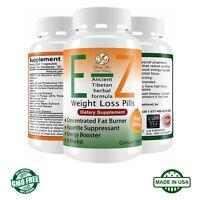 E-Z Weight Loss Diet Pills Appetite Suppressant  Fat Burner Capsules