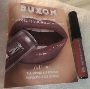Buxom Plumping Lip Polish DOLLY Sample Sz & Dolly Danger Lip Pencil Trav Sz NEW