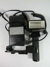 Canon Flash Speedlight 577G w/Transistor Battery Pak w/Case,G20 Sensor, Bracket
