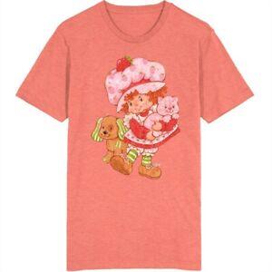 Strawberry Shortcake Retro Cartoon Poster Vintage Unisex T Shirt