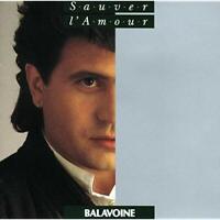 Daniel Balavoine - Sauver l'amour - Album CD 1985 - Bon état