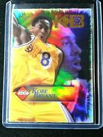 Kobe Bryant 1998 Collector's Edge Impulse Game Ball  Holofoil  Lakers HOF