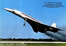 Postcard 1050 - Aircraft/Aviation BAC Aerospatiale Concorde