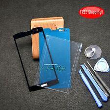 Front Screen Glass Lens for LG Leon H340 MS345 H345 H320 H341+ Frame & OCA Tape