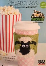 KNITTING PATTERN Shaun The Sheep Mug Hug Home Coffee Wallace and Gromit Drops DK