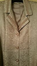 long new coat size 18 mink pink colour longline blazer