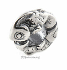 Authentic Trollbeads Silver Happy Fish 11153