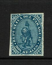 Paraguay SC# 2, Mint Hinged, Hinge Rem, minor gum creasing, see notes - S11330