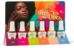 Harmony Gelish Feel The Vibes Summer Collection 2021 Soak Off Gel No Display