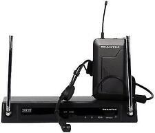 Trantec S4.04a UHF Hm-33 Headset Wireless Radio Mic System Trolley Token