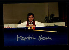 Martin Horn Foto Original Signiert Billard +A 160548