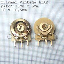 4,7 KOhm 4K7 Trimmer Potenziometro Orizzontale Vintage NOS 5 pezzi