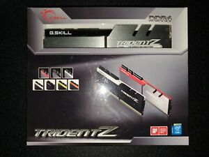 ✔✔ G.SKILL TridentZ 32GB (2 x 16GB) 3200MHz *CL14* PC4-25600 DDR4 *B-Die* GSKILL
