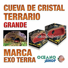 CUEVA DE CRISTAL PARA REPTILES CRYSTAL CAVE TERRARIO Grande Exo Terra
