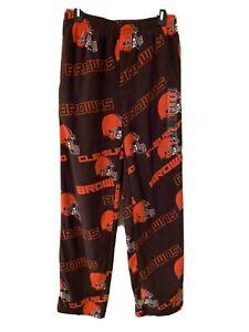 NFL Cleveland Browns Men's Pajama Sleepwear Lounge Bottoms Size Small