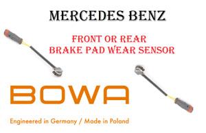 Front or Rear Brake Pad Wear Sensor For Mercedes Benz Fits Most Models OEM BOWA
