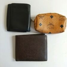 Burberry LOEWE MCM Wallets, Coin Purse Lot of 3 Used Authentic nzk-108