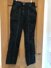 Gorgeous Women's Valentino Black Washed High Waisted Jeans Size 25
