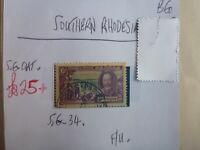 SOUTHERN RHODESIA STAMP S.G. 34 6d F.U.