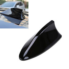 Universal Car Roof Radio AM/FM Signal Shark Fin Style Aerial Antenna Cover Black