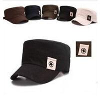 Mens Womens Baseball Cap Hip-Hop Hat Adjustable Snapback Sport Unisex Flat Hat