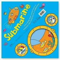Miles Kelly Convertible Submarine 3 in 1 Book Playmat and Toy for Children NEW