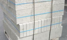 (13,41 €/m²) 6er Bimsdielen Bims-Bauplatten 99x6x24 cm Betonstein Bimsbeton