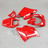 Red Bodywork Fairing Set Cowl Fit For Ducati 748 916 996 998 2003-2004 03 04 NEW