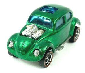 Redline Hot Wheel US Green Custom Volkswagen, VERY CLEAN - No Res!