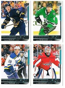 2018-19 18-19 Upper Deck Young Guns Rookie RC Series 1 & 2 & Update Pick List !!