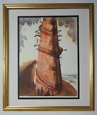 "Original 1967 Salvador Dali Biblia Sacra ""Turris Babel"" Signed - COA"