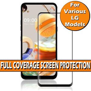 For LG K42 K51S K52 K61 K62 Gorilla Full Cover Tempered Glass Screen Protector