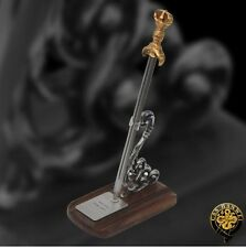 Miniature Sanko Tsuka Sword Letter Opener with Display Stand