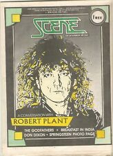 Robert Plant Cleveland Scene Magazine 1988 March 17-23 Bruce Springsteen