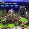 LED Aquarium Heater Fish Tank Turtle Temperature Mini Submersible 25/50/75/100W