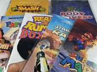 ¤ Nintendo 64 N64 Manual Instruction Game ¤ Tittle Choose Pick Your Booklet