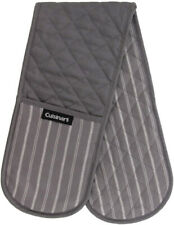 New listing Cuisinart Quilted Double Oven Mitt, Twill Stripe, 7.5 x 35 inches - Heat Oven -