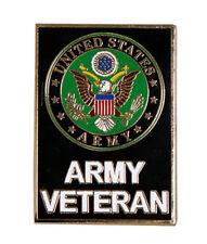 US Army Veteran  Pin 1.5 inch JACKET VEST hat  PIN