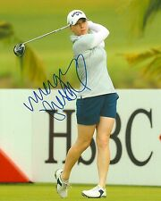 MORGAN PRESSEL signed LPGA 8x10 photo with COA A