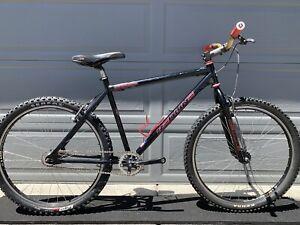 "Redline Mono Cog Retro MTB 26"" BMX  Mountain Bike Steel Single Speed Race Face !"