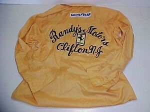 Randys Motors LeMans Uniform Shirt Ferrari 365 GT4BB Race Car NART 111 75 26 86