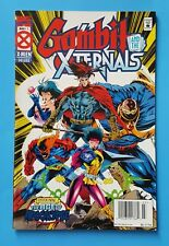 Gambit and the Externals # 1 UPC Newsstand Edition Age of Apocalypse Marvel