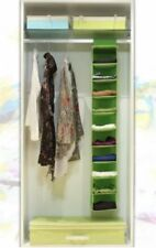 10 Racks Shelf Hanging Wardrobe Storage Organizer Cloth Bag Blanket Box Closet#