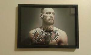 Conor McGregor  UFC A4 260gsm Framed Picture
