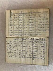 Vintage Ledger 1963-1969 Accounts Takings Book Liverpool Historical Interest