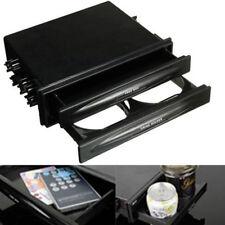 Universal Double Din Radio Pocket Kit w/Drink-Cup Holder /Storage Box Practical