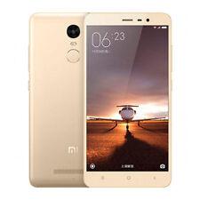 Teléfonos móviles libres Xiaomi Redmi Note 4 de color principal oro con conexión 4G
